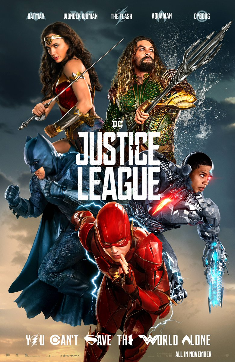 """What Do You Think of This New """"Justice League"""" Poster? 