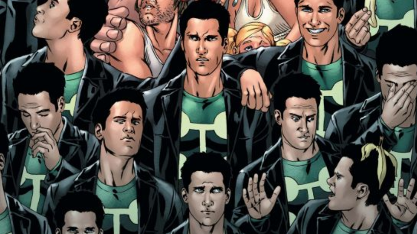 Marvel Comics cover for X-Factor #18 (2005), featuring Multiple Man