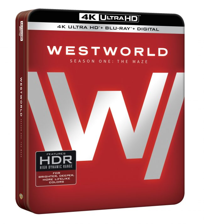 image; Warner Bros. Home Entertainment Box for HBO's Westworld: The Maze S1 on Blu-ray
