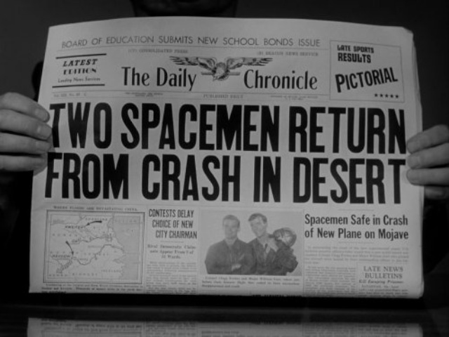 Still From Episode of Twilight Zone