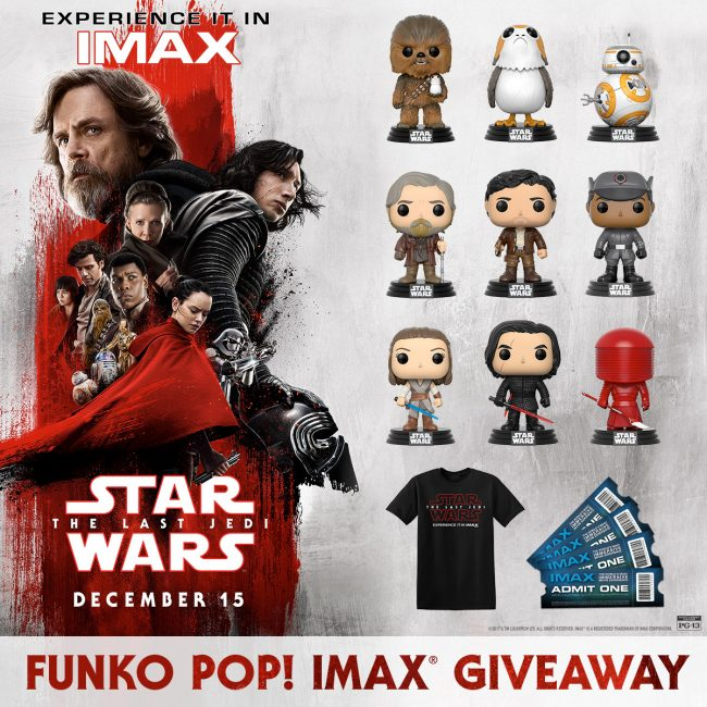 image: IMAX Star Wars: The Last Jedi Funko Pop!