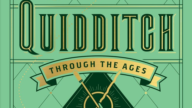 """""""Quidditch Through the Ages"""" Cover Image Credit: Scholastic"""