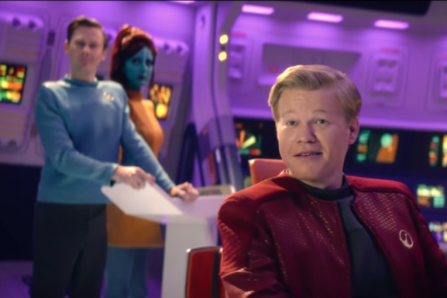 "image: Netflix Jesse Plemons as Robert Daly in the Black Mirror episode ""USS Callister"""