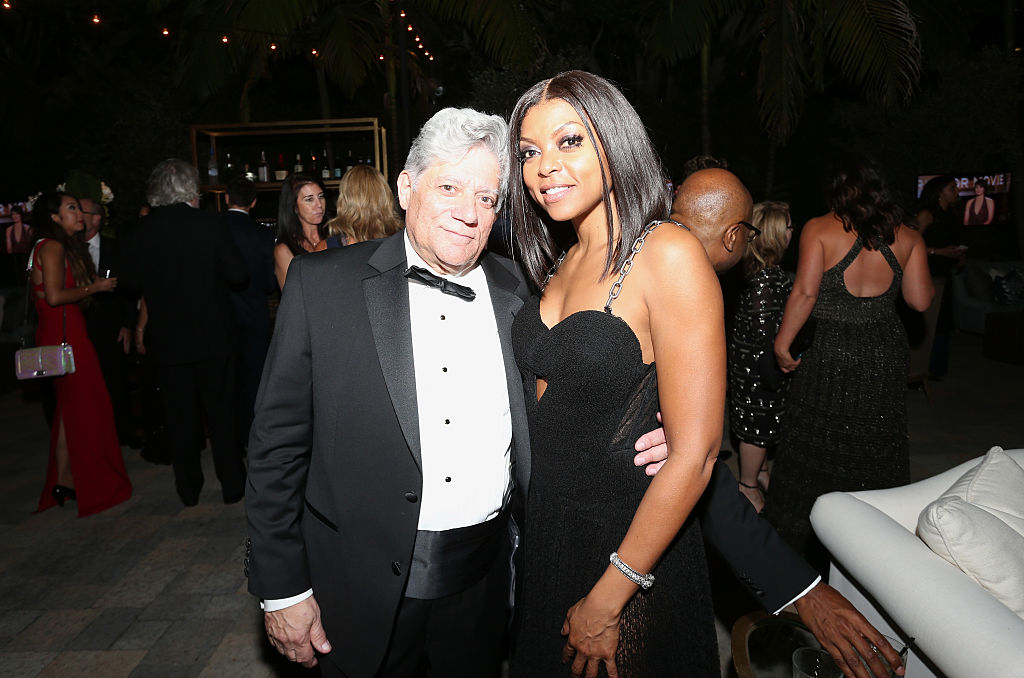 Actress Taraji P. Henson and her manager Vincent Cirrincione attend the 67th Primetime Emmy Awards Fox after party on September 20, 2015 in Los Angeles, California. (Photo by Frederick M. Brown/Getty Images)