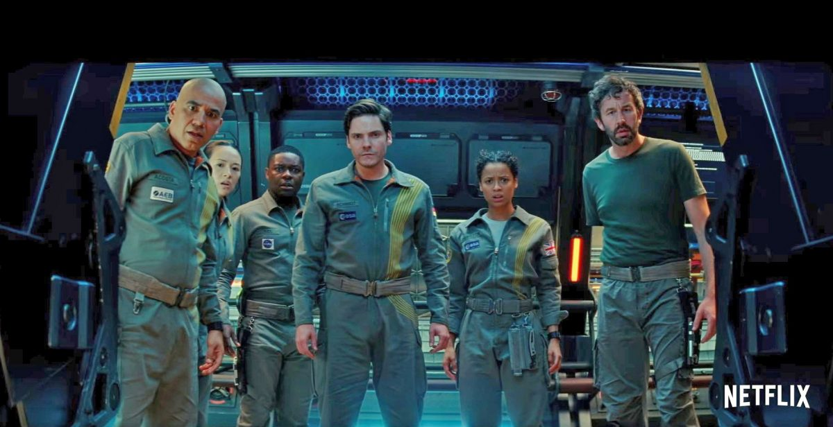 The cast of Netflix's 'The Cloverfield Paradox'