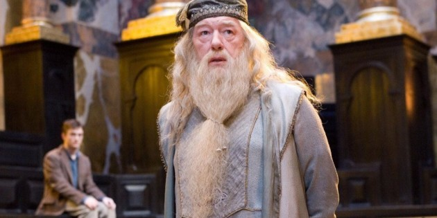 Dumbledore in Harry Potter