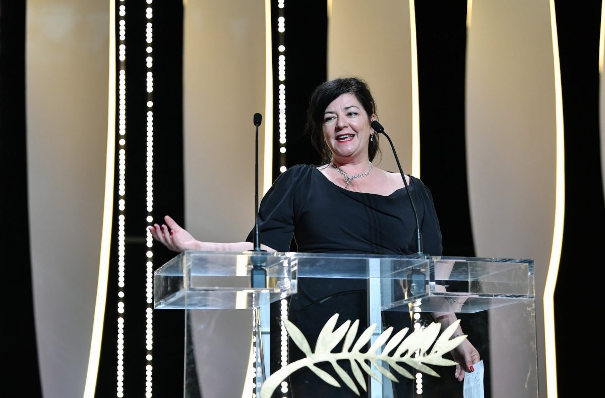 Lynne Ramsay at Cannes for You Were Never Really Here