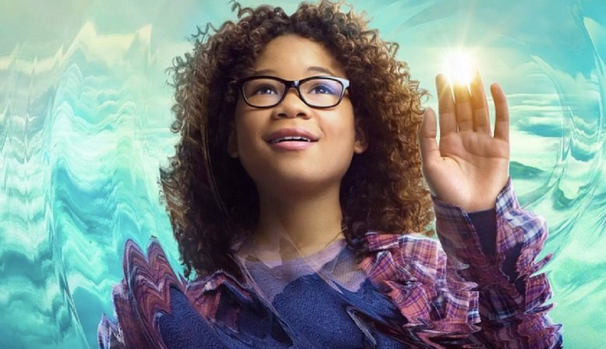 "Storm Reid as Meg Murry in her character poster for ""A Wrinkle in Time"" (Credit: Walt Disney Studios)"
