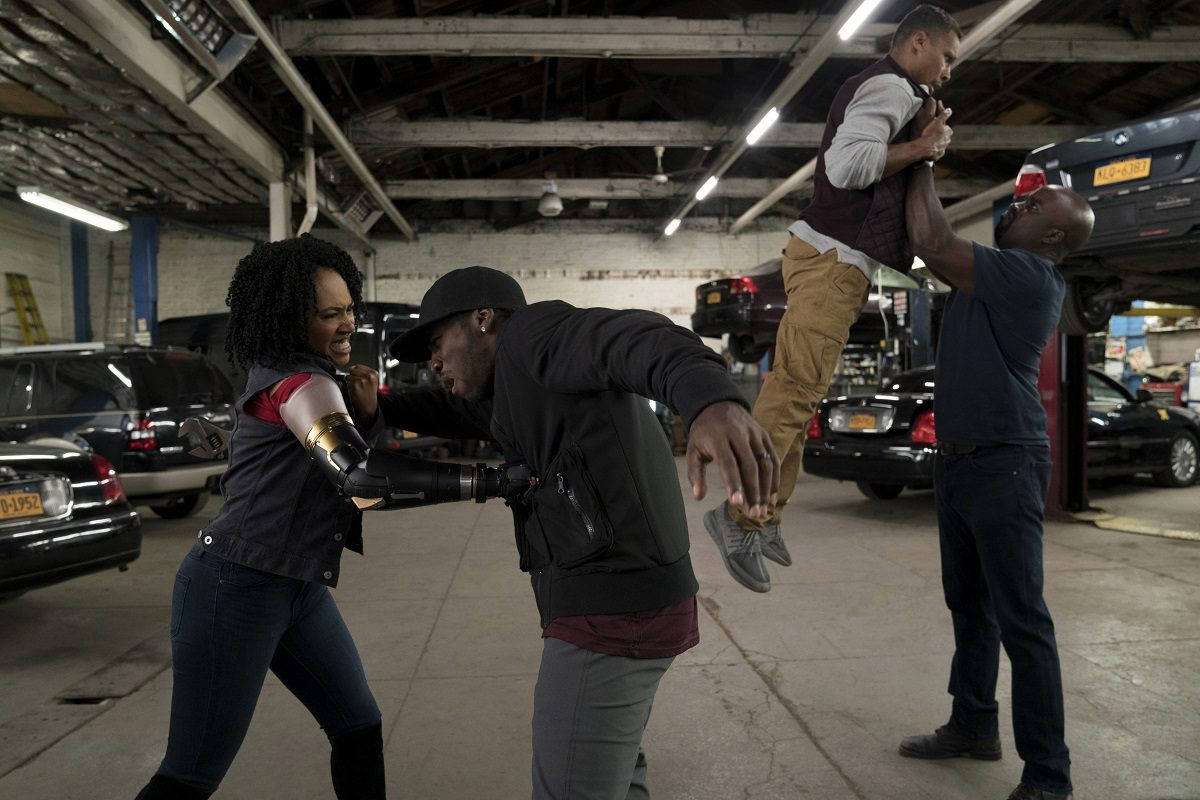 "Image of Simone Missick as Misty Knight in Netflix and Marvel's ""Luke Cage"" (Image: Netflix)"