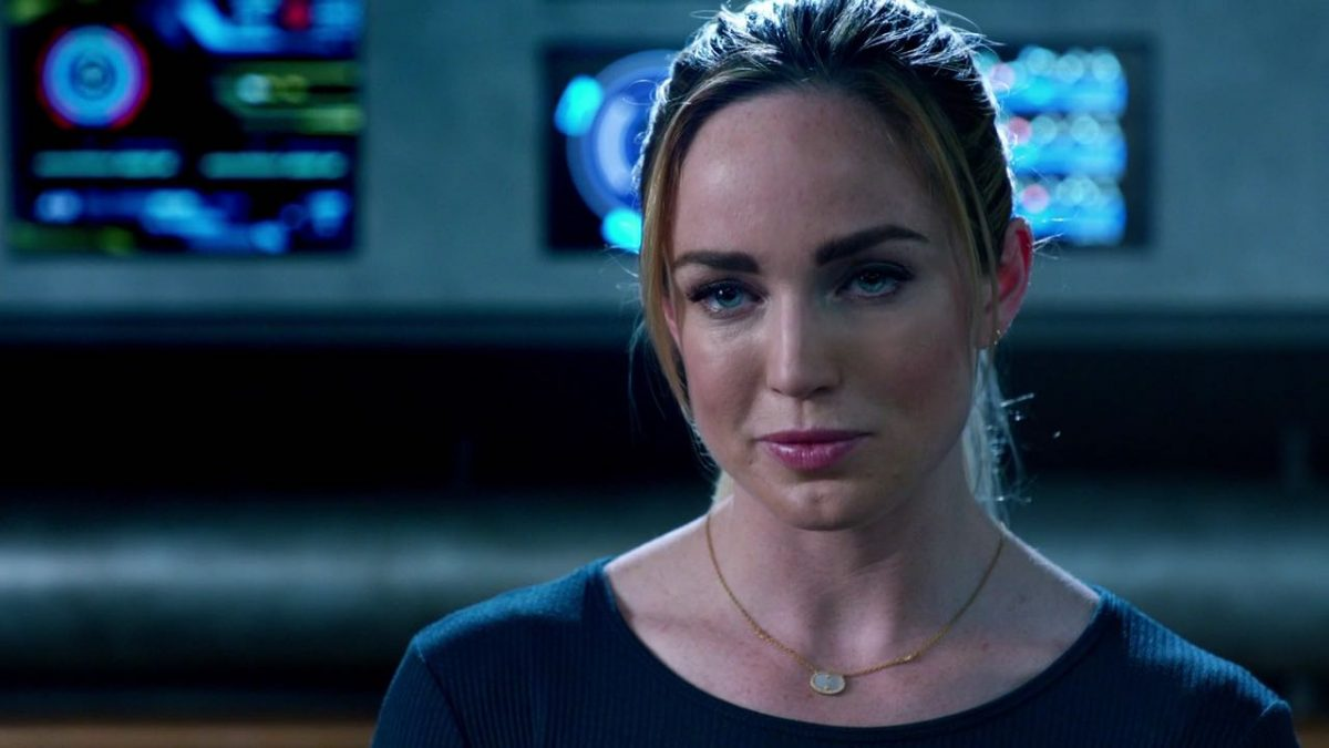 Caity Lotz as Sara Lance on 'Legends of Tomorrow'