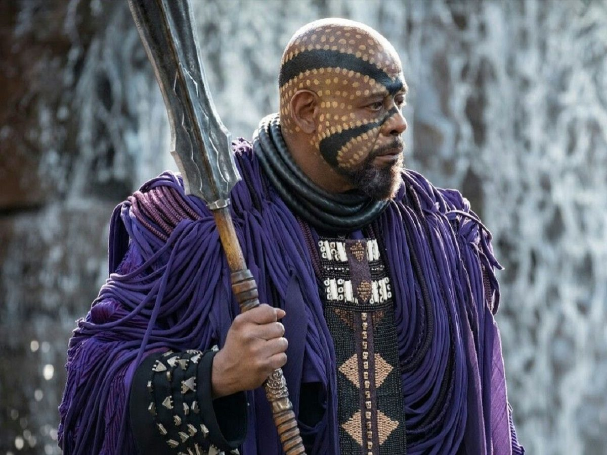 Forrest Whitaker as Zuri in Black Panther