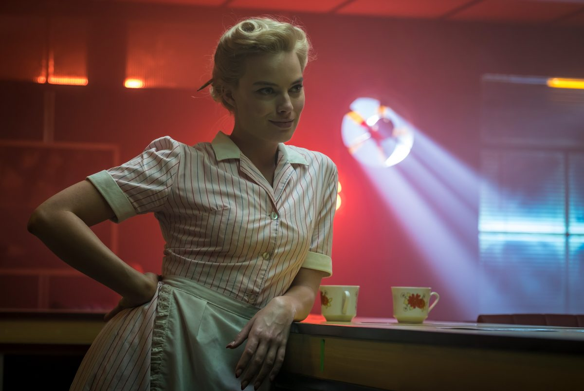 Margot Robbie as Annie in a scene from 'Terminal'