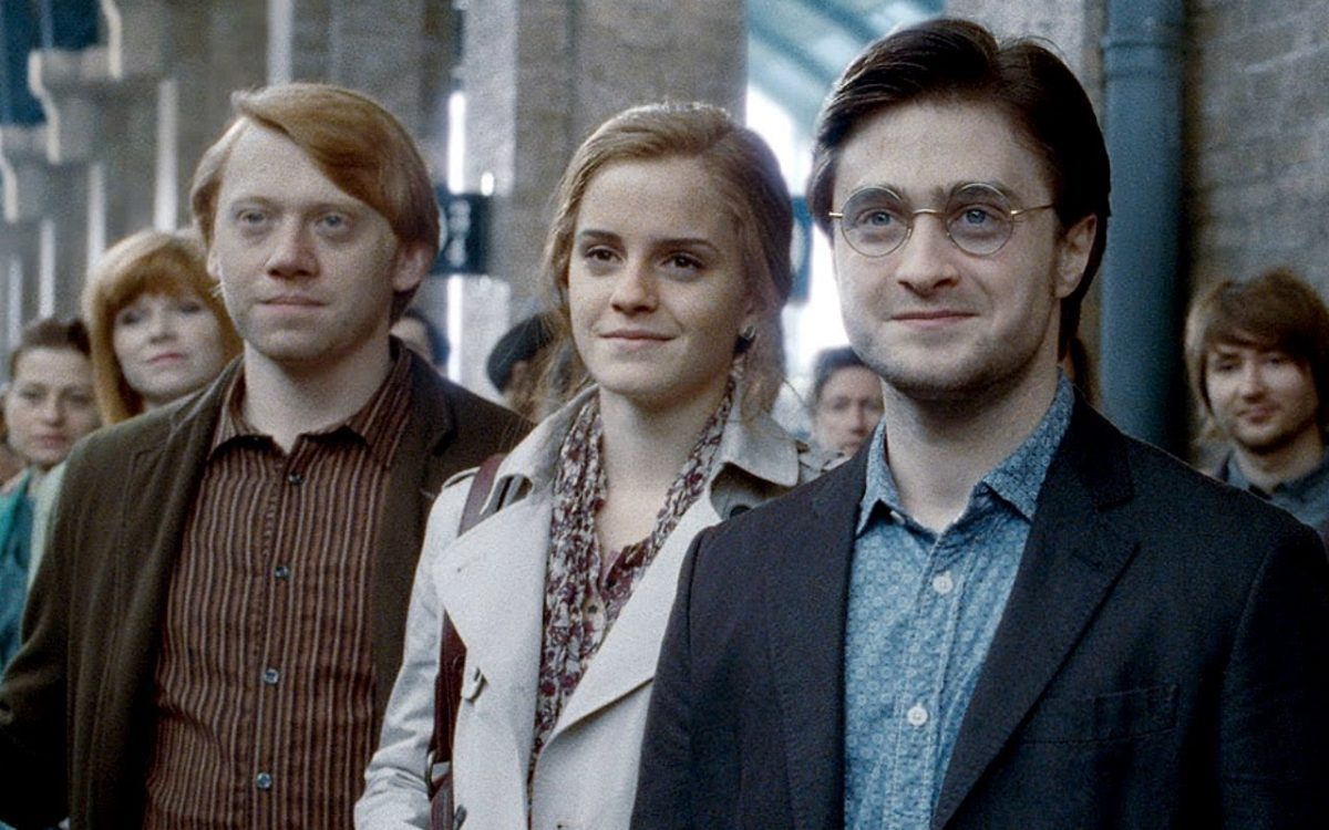 Harry Potter main characters as adults at the end
