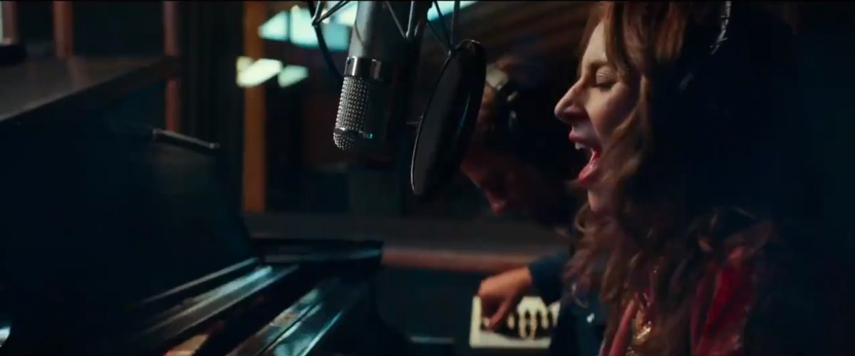 Lady Gaga and Bradley Cooper in 'A Star is Born'