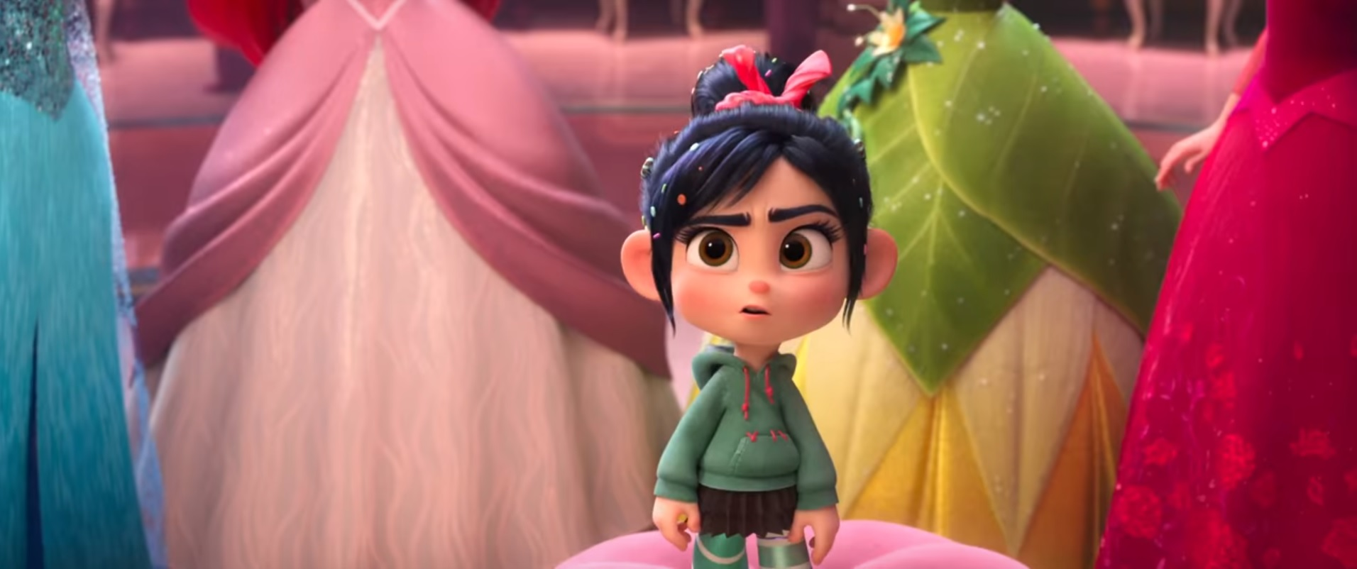 I Love The Awesome Ladies Of Ralph Breaks The Internet The Mary Sue