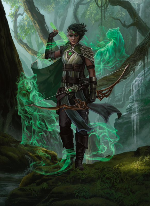 Vivien_of_the_Arkbow - Magali_Villeneuve_v1_current