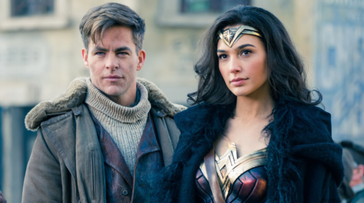 Diana Prince and Steve Trevor in Wonder Woman