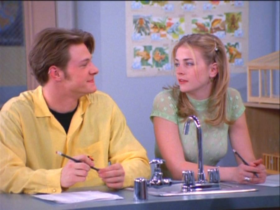 harvey and sabrina in sabrina the teenage witch