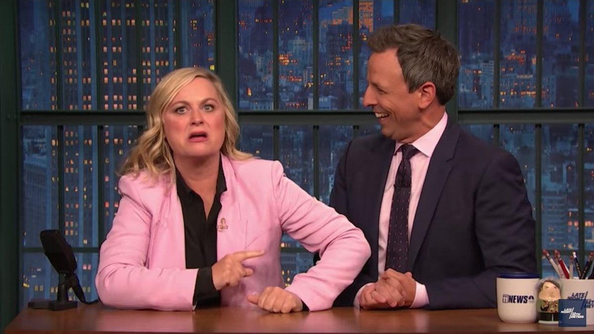 really seth meyers amy poehler james comey