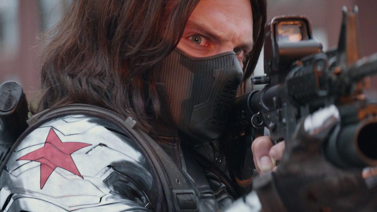 Bucky Barnes as The Winter Soldier