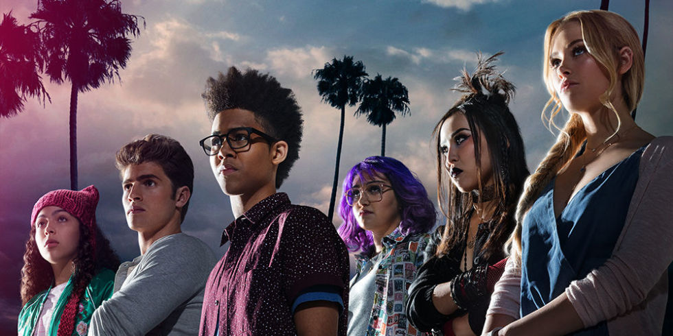 marvel runaways cast for Hulu