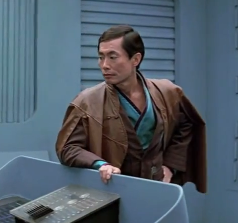 Star Trek III: Search for Spock starred George Takei as Hikaru Sulu