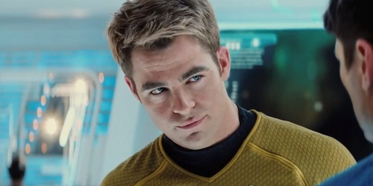 Star Trek Into Darkness sees Chris Pine stepping once more into the role of Jim Kirk