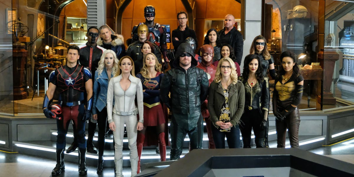 arrow, the flash, supergirl, legends of tomorrow