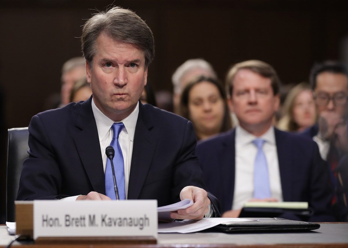brett kavanaugh, christine blasely ford