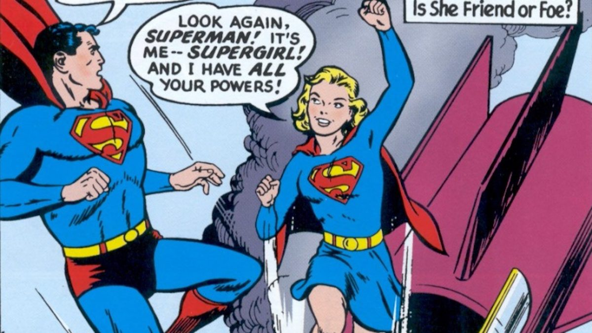 Superman and Supergirl movies and comics