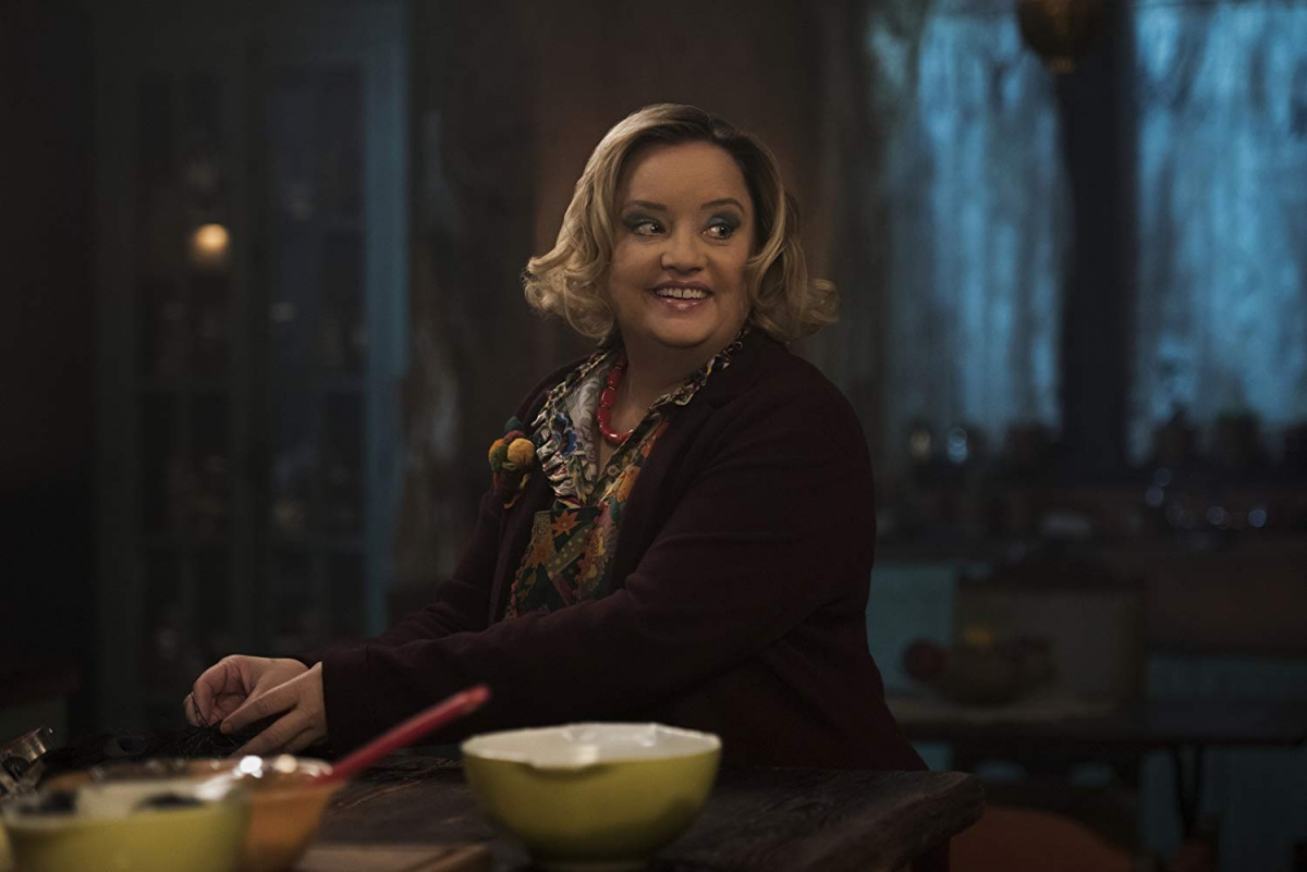 Lucy Davis in Chilling Adventures of Sabrina (2018)