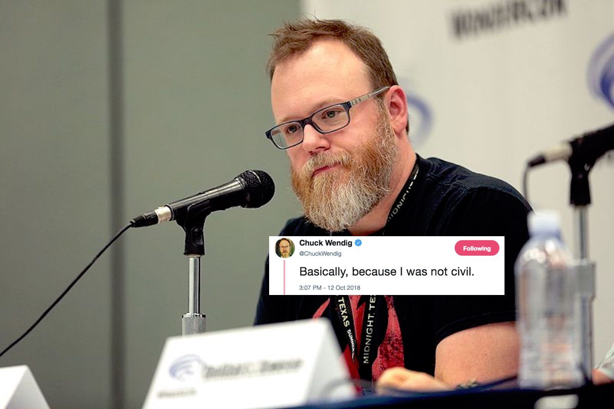 Chuck Wendig fired from Marvel