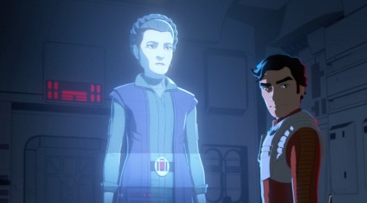 Leia in Star Wars Resistance