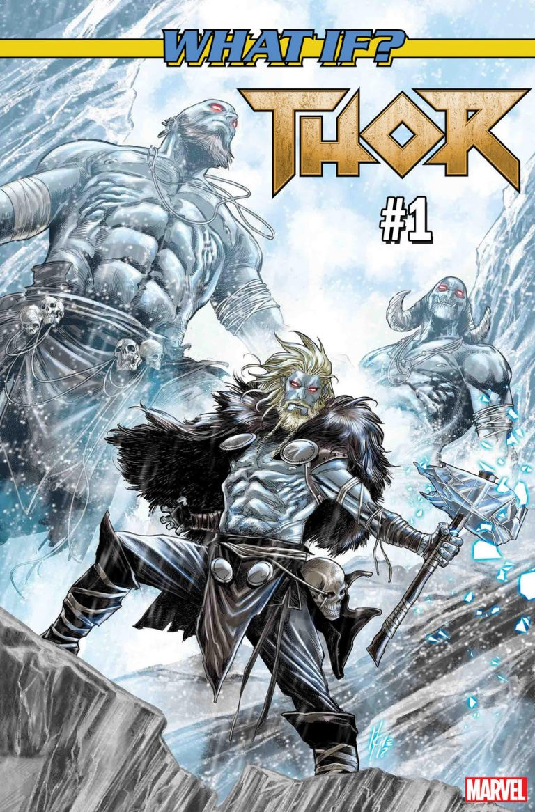 What If? Thor #1 Comics cover