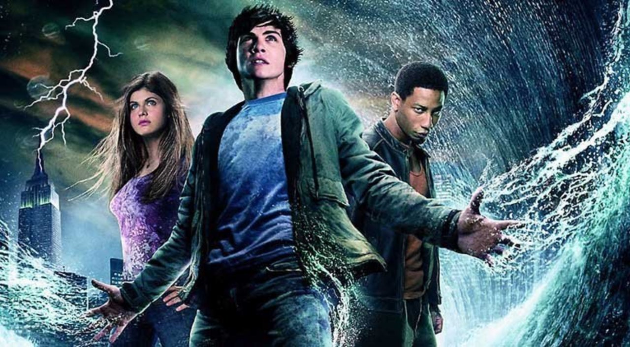 Percy Jackson: The Lightning Thief was based on the novel of the same name by Rick Riordan