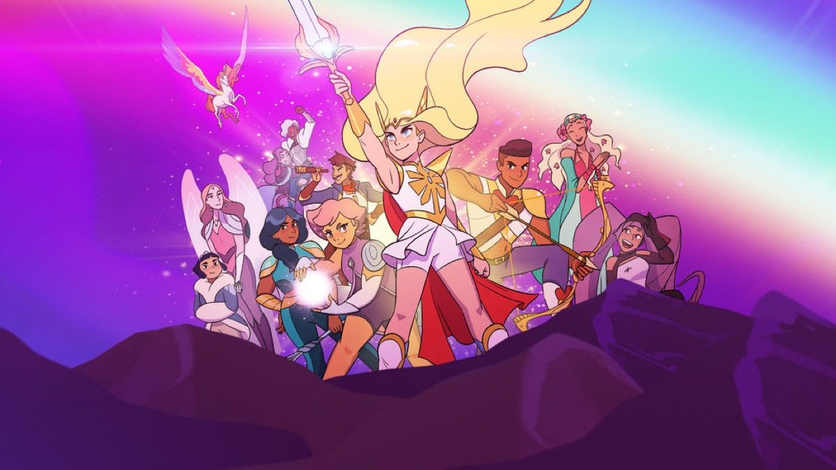 she-ra netflix team splash