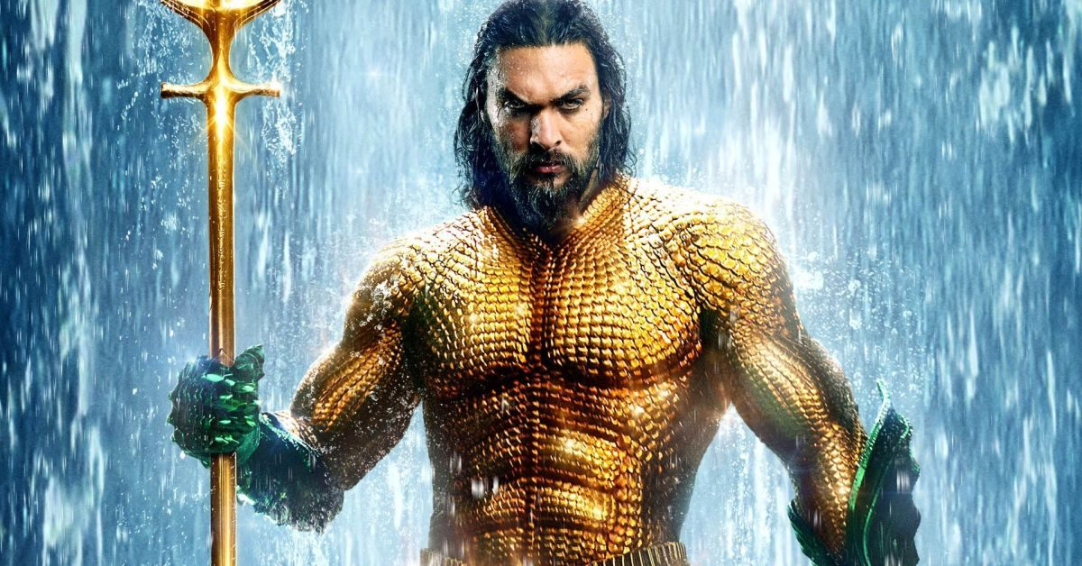 Jason Momoa as Arthur Curry in 'Aquaman'