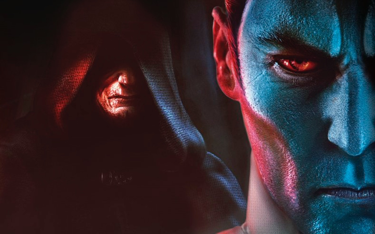 The cover art for Thrawn: Treason by Timothy Zahn, from Del Rey and Lucasfilm