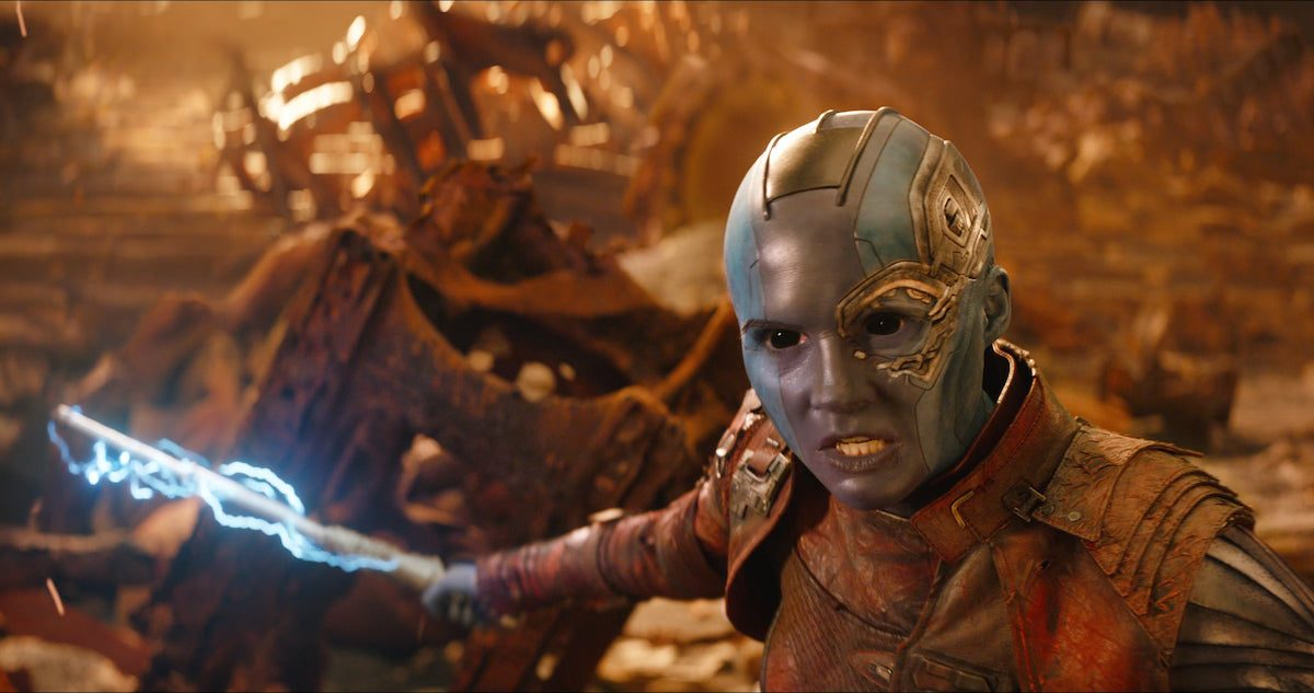 Nebula in Guardians of the Galaxy