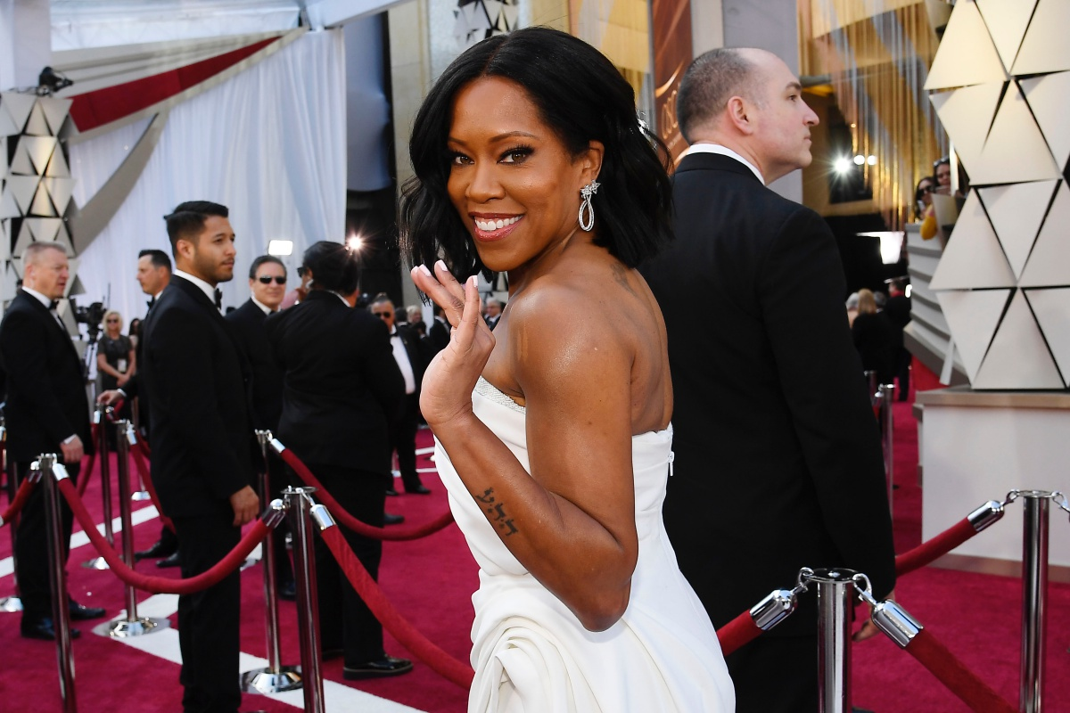 FEBRUARY 24: Regina King attends the 91st Annual Academy Awards at Hollywood and Highland on February 24, 2019 in Hollywood, California. (Photo by Kevork Djansezian/Getty Images)