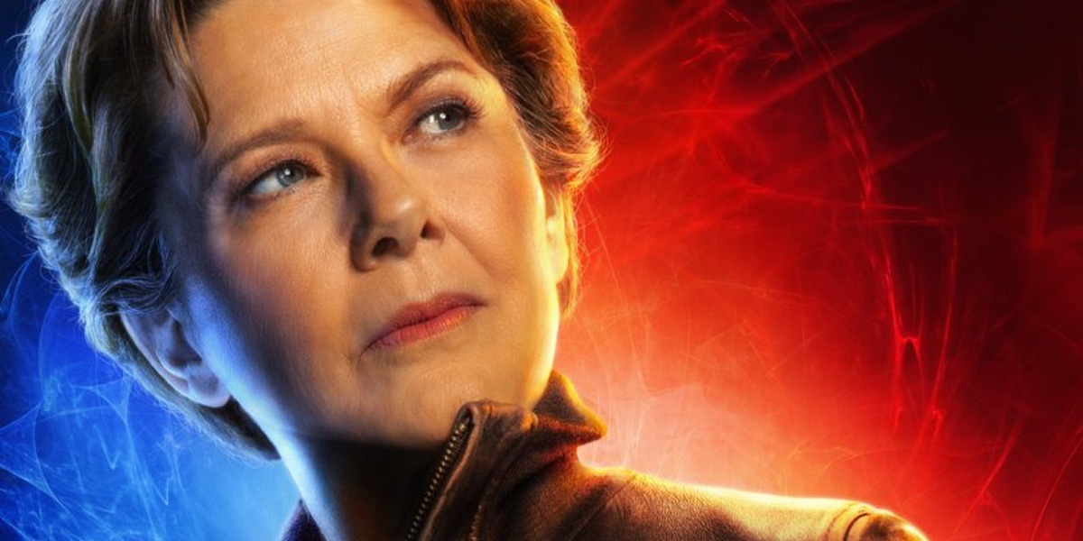 Annette Bening plays the mysterious Supreme Intelligence in Captain Marvel