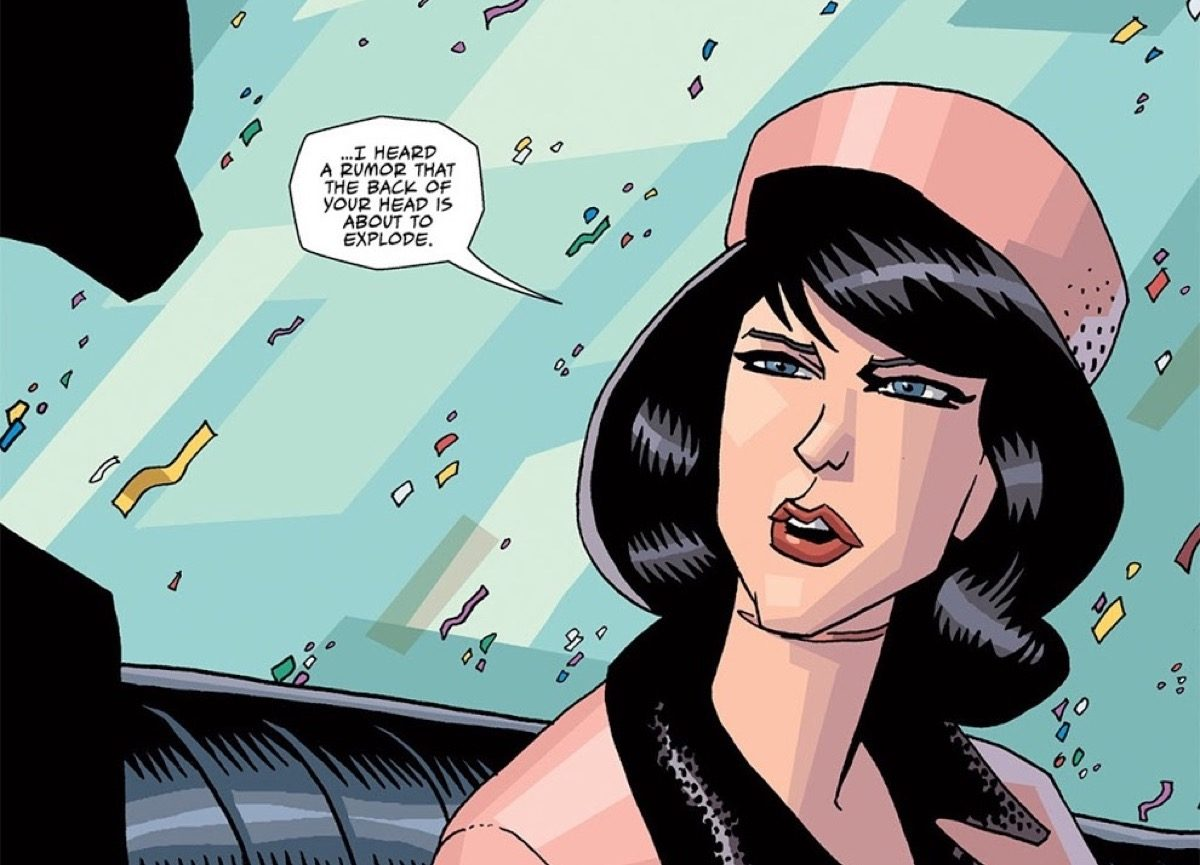 The Kennedy assassination in The Umbrella Academy.
