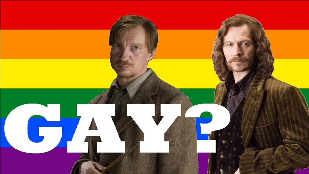 Remus Lupin and Sirius Black queer relationship