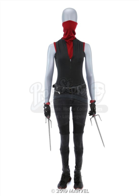 Elektra Natchios' Battle Costume with Sai is cosplay ready for your daredevil needs.