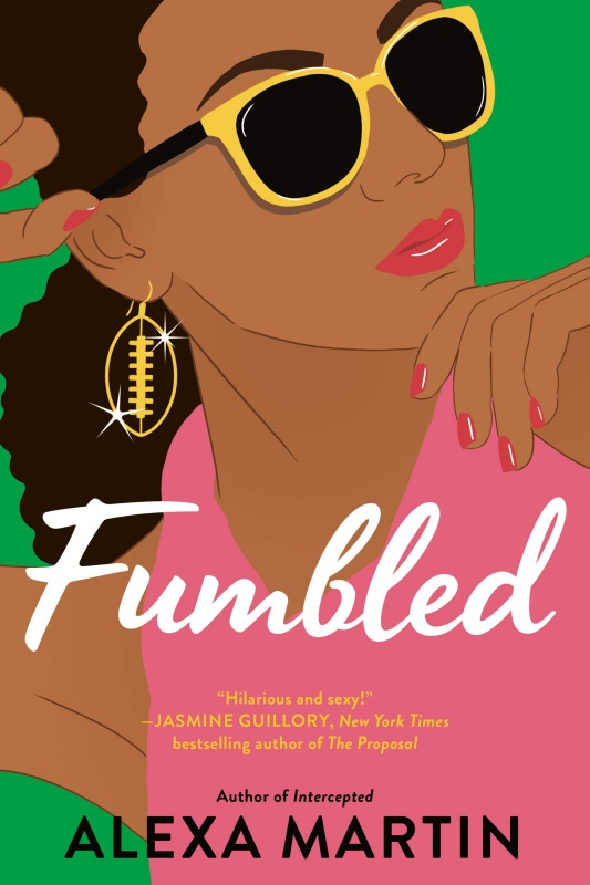 Fumbled Book Cover by Alexa Martin