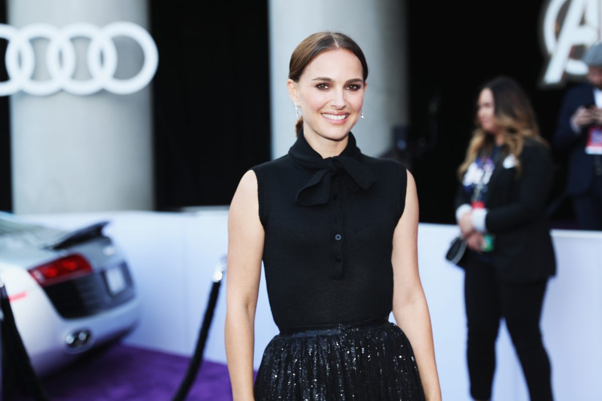 natalie portman attends the avengers: endgame premiere WHAT DOES IT MEAN