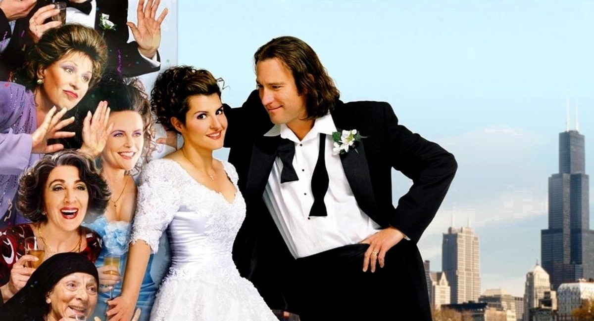 The poster for indie box office smash My Big Fat Greek Wedding.