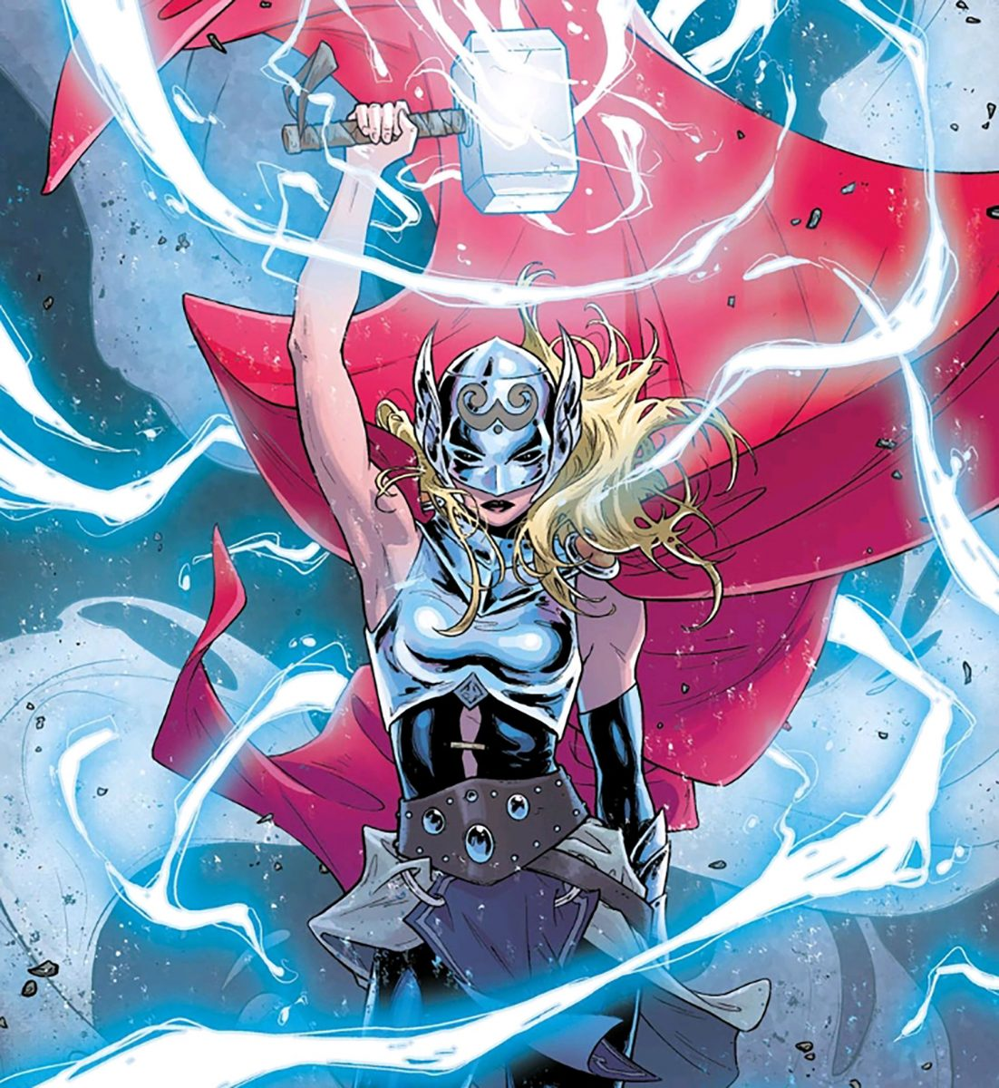 jane foster takes on the thor mantle
