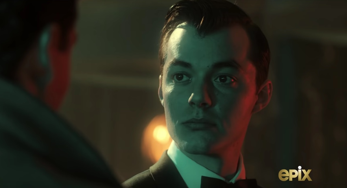 Alfred (Jack Bannon) in the trailer for Pennyworth.