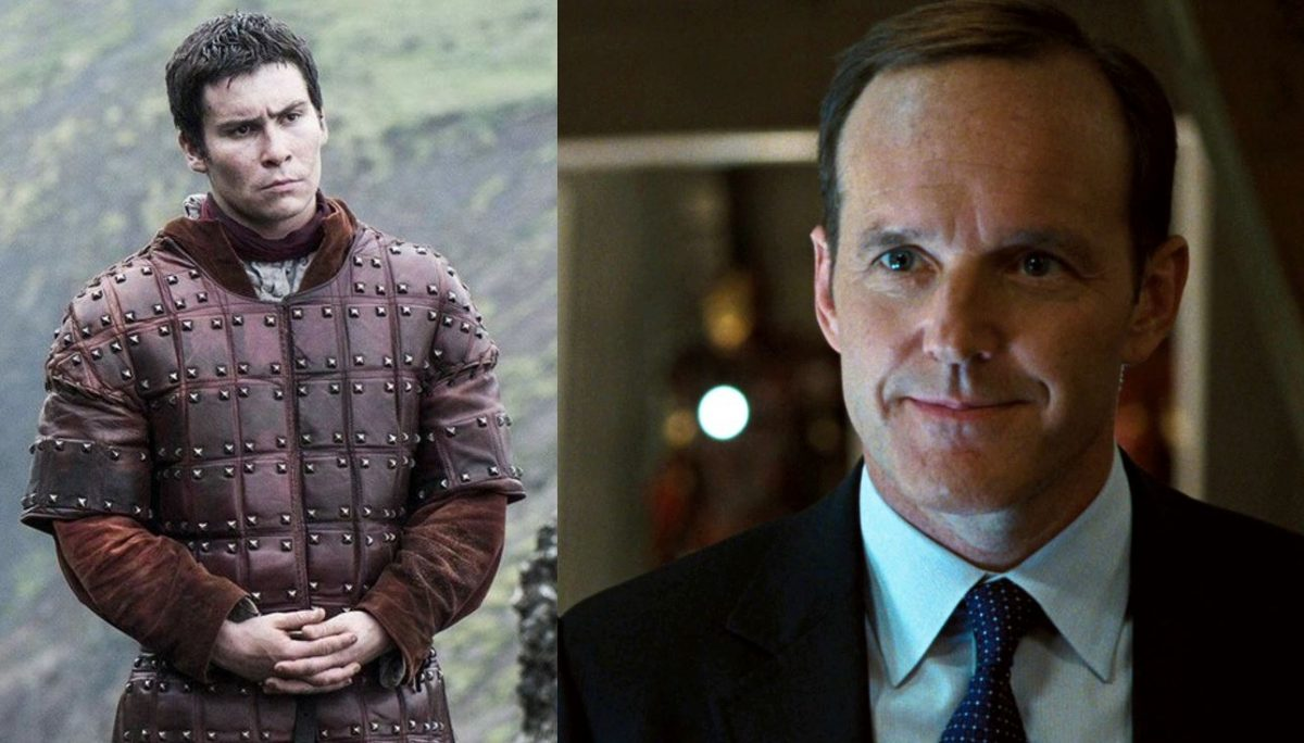 podrick payne and phil coulson, still happy to be here.